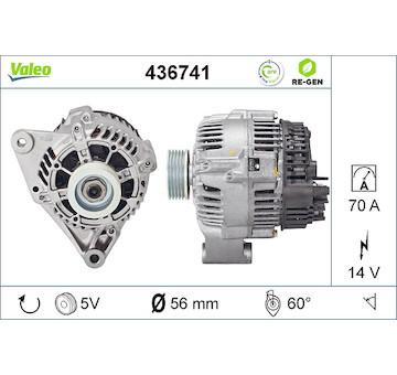 generátor VALEO 436741