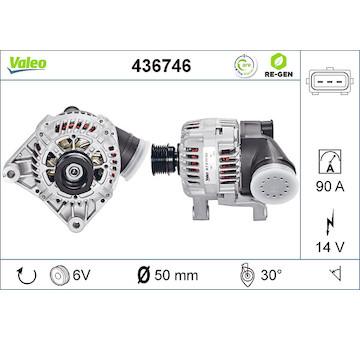 generátor VALEO 436746