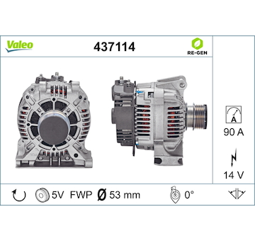 generátor VALEO 437114