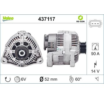 generátor VALEO 437117