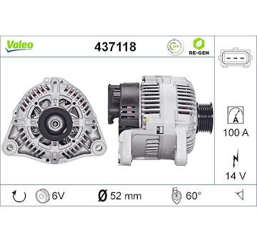 generátor VALEO 437118