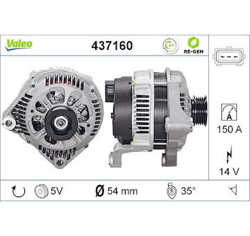 generátor VALEO 437160