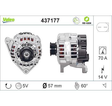 generátor VALEO 437177