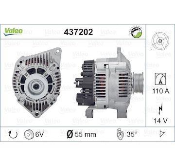 generátor VALEO 437202