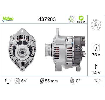 generátor VALEO 437203