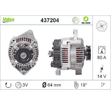 generátor VALEO 437204