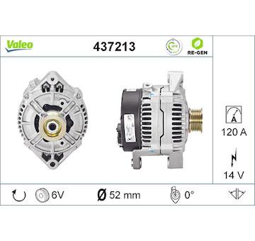 generátor VALEO 437213