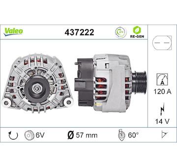 generátor VALEO 437222