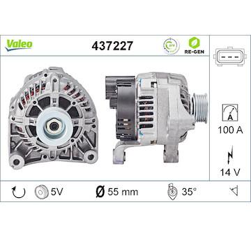 generátor VALEO 437227