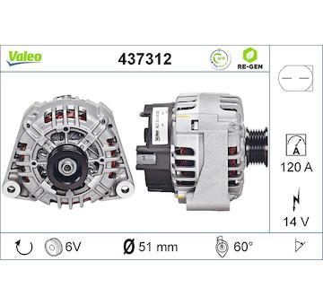 generátor VALEO 437312