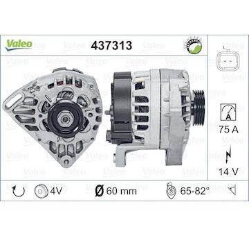 generátor VALEO 437313