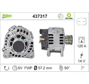 generátor VALEO 437317