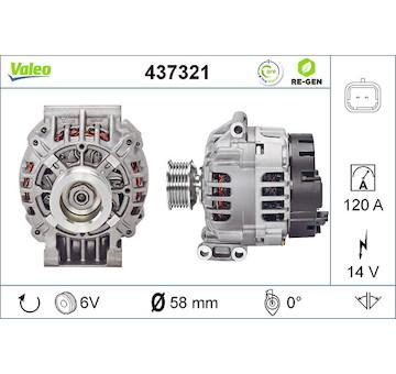 generátor VALEO 437321
