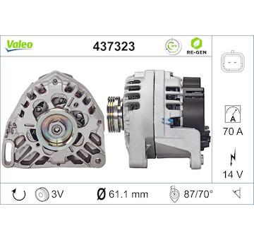 generátor VALEO 437323