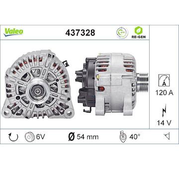 generátor VALEO 437328