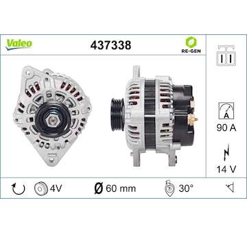 generátor VALEO 437338