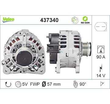 generátor VALEO 437340