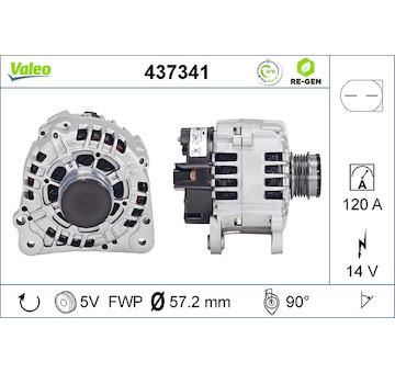 generátor VALEO 437341