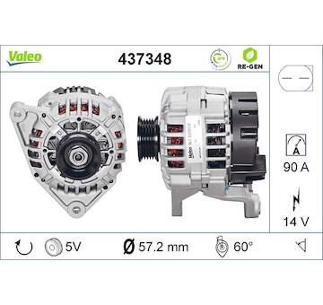 generátor VALEO 437348