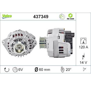 generátor VALEO 437349