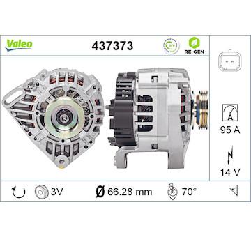 generátor VALEO 437373