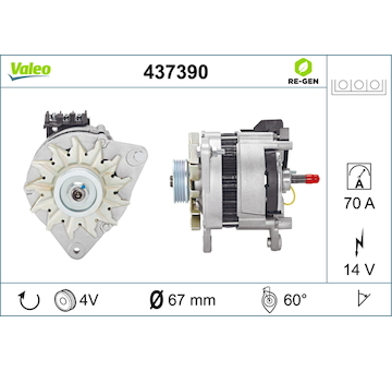 generátor VALEO 437390