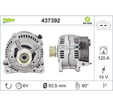 generátor VALEO 437392