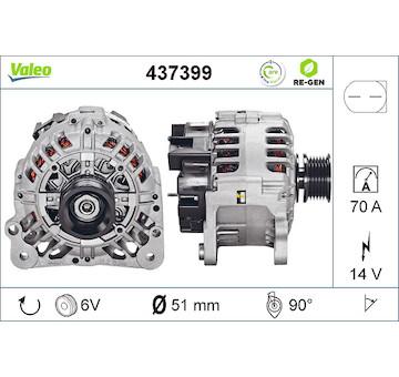 generátor VALEO 437399