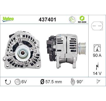 generátor VALEO 437401