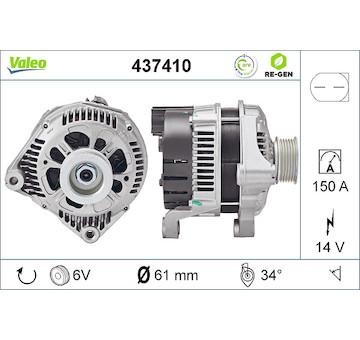 generátor VALEO 437410