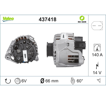 generátor VALEO 437418