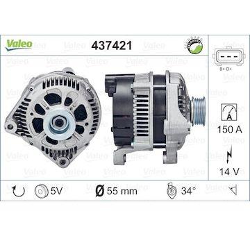 generátor VALEO 437421