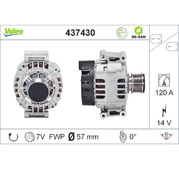 generátor VALEO 437430