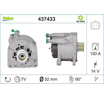 generátor VALEO 437433