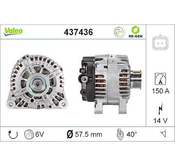 generátor VALEO 437436