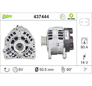 generátor VALEO 437444