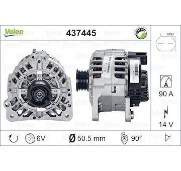 generátor VALEO 437445