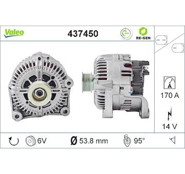 generátor VALEO 437450