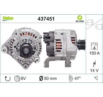 generátor VALEO 437451