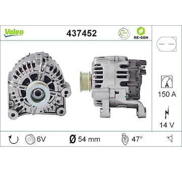 generátor VALEO 437452