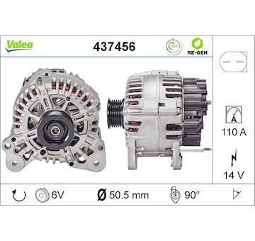 generátor VALEO 437456