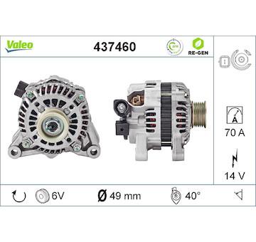 generátor VALEO 437460