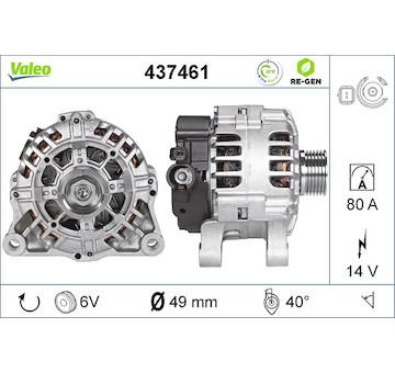 generátor VALEO 437461