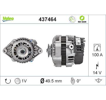 generátor VALEO 437464