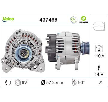 generátor VALEO 437469