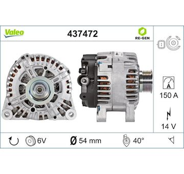generátor VALEO 437472