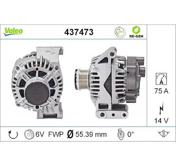 generátor VALEO 437473