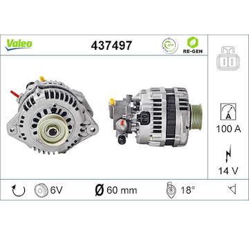 generátor VALEO 437497