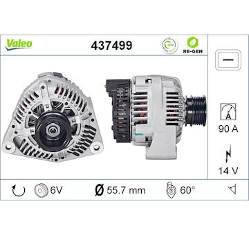 generátor VALEO 437499