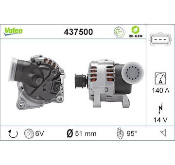 generátor VALEO 437500